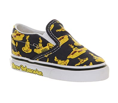 c8836e7c03 Vans Classic Slip On Toddlers Beatles Yellow Submarine - 8 infant UK   Amazon.co.uk  Shoes   Bags