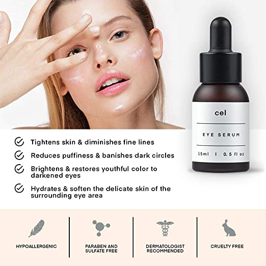 Amazon.com: CEL MD Stem Cell Korean Eye Serum. Tratamiento ...