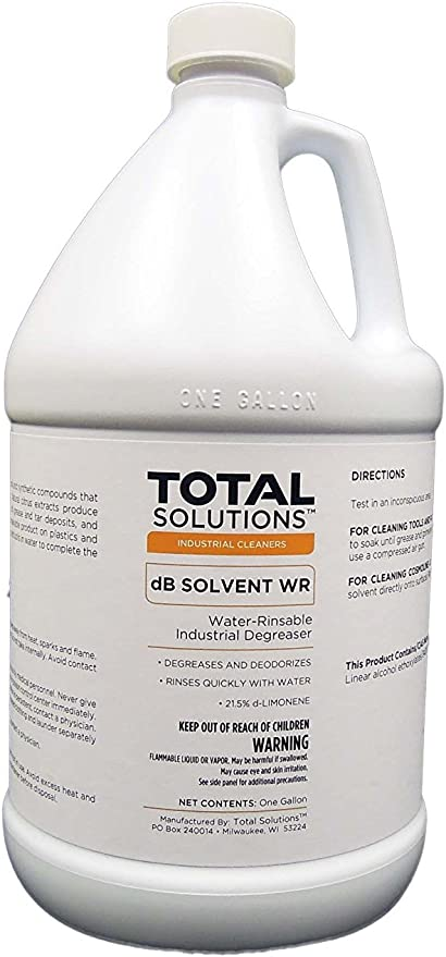 DB disolvente WR, 21.5% d-Limonene, water-rinsable Industrial ...
