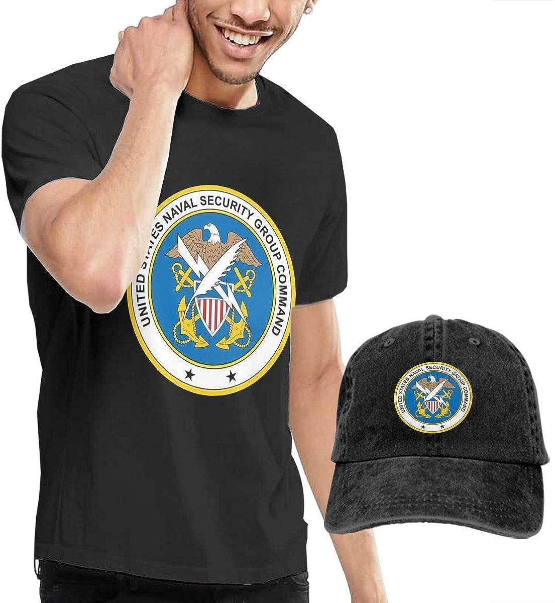 LYZBB Camisetas y Tops Hombre Polos y Camisas, US Navy Naval ...