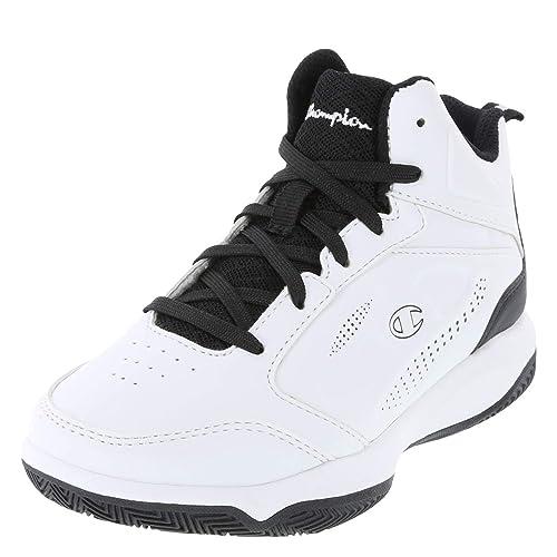 b707907afc49c Champion White Black Boys  Contender Basketball Shoe 13 Regular ...