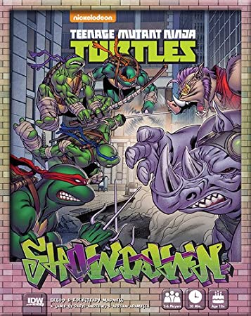 Amazon.com: IDW Juegos Teenage Mutant Ninja Turtles Showdown ...