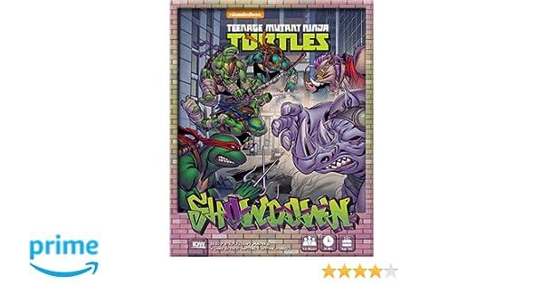 IDW Games Teenage Mutant Ninja Turtles Showdown: Bebop & Rocksteady Board Game
