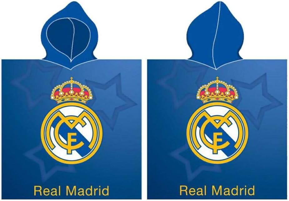 Real Madrid Poncho Playa Toalla Tiempo Libre y Sportwear Unisex Infantil, Juventud (Multicolor), Talla Única: Amazon.es: Deportes y aire libre