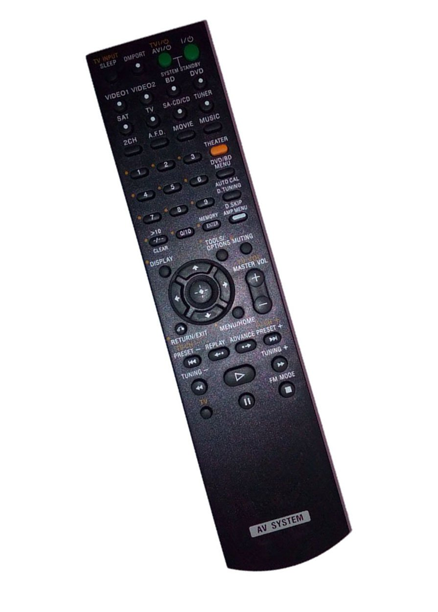 Replaced Remote Control for Sony STRKS2300 RM-AAU020 HT-7200DH HTD-DW7500 148058911 Home Theater Audio/Video Receiver AV System