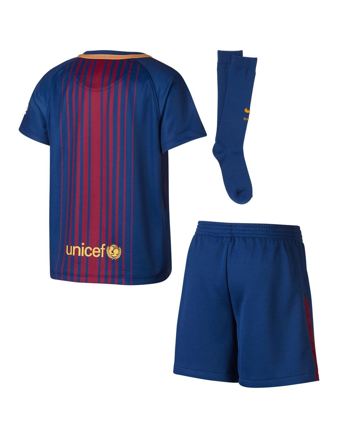 Nike 2017-2018 Barcelona Home Little Boys Mini Kit: Amazon.es ...