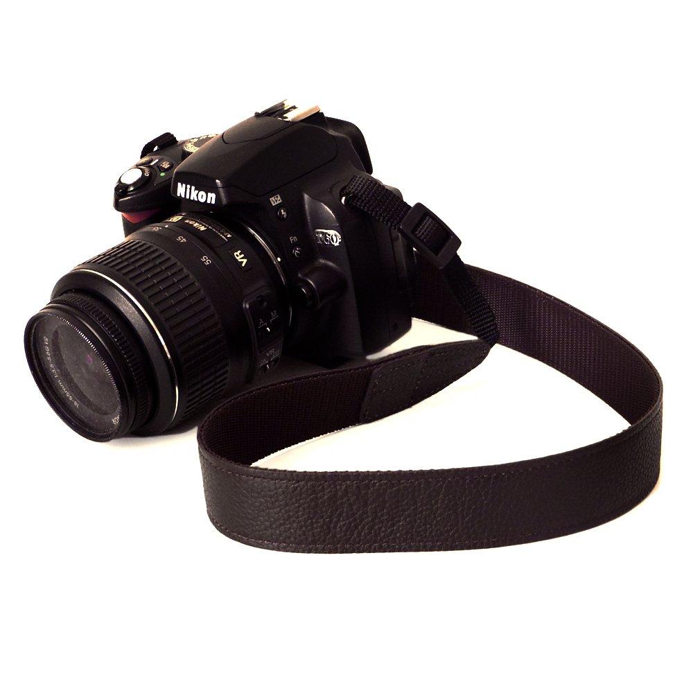 11位.かばん屋さんのカメラストラップ レザーカメラストラップ