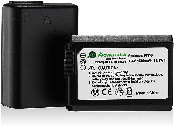 Image ofPowerextra 2 Paquetes Reemplazo Canon LP-E10 Batería para Canon EOS Rebel T3 T5 T6 Kiss X50 Kiss X70 EOS 1100D EOS 1200D EOS 1300D Canon EOS 4000D EOS 3000D EOS 2000D Cámara Digital