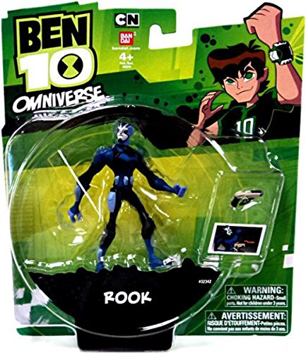 Ben 10, Omniverse Action Figure, Rook, 3 Inches