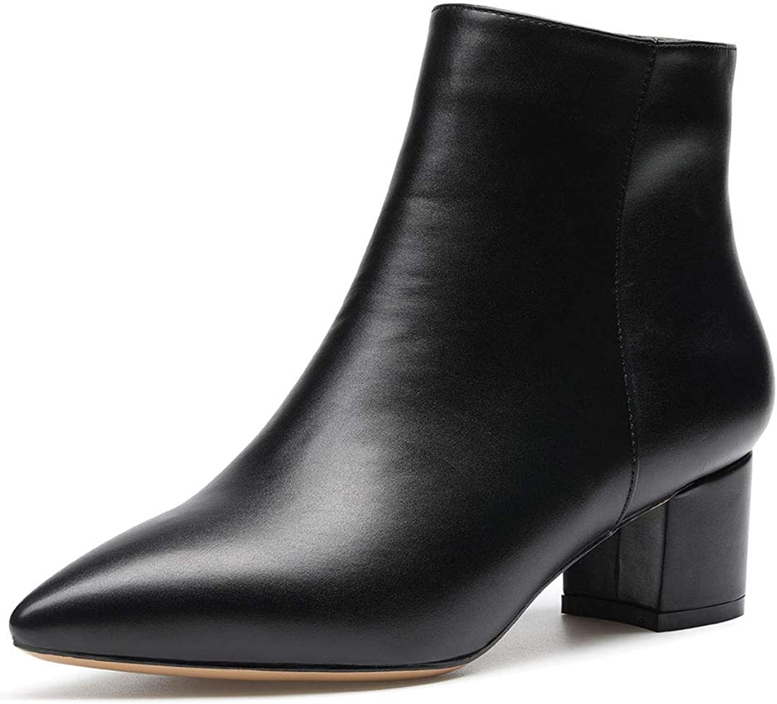 Ankle Boot with Zipper 5CM Shoes