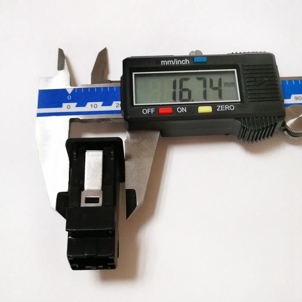 Semoic Voiture CD Changeur AUX in AUX Adaptateur Audio Cable pour BMW E46 3-Series