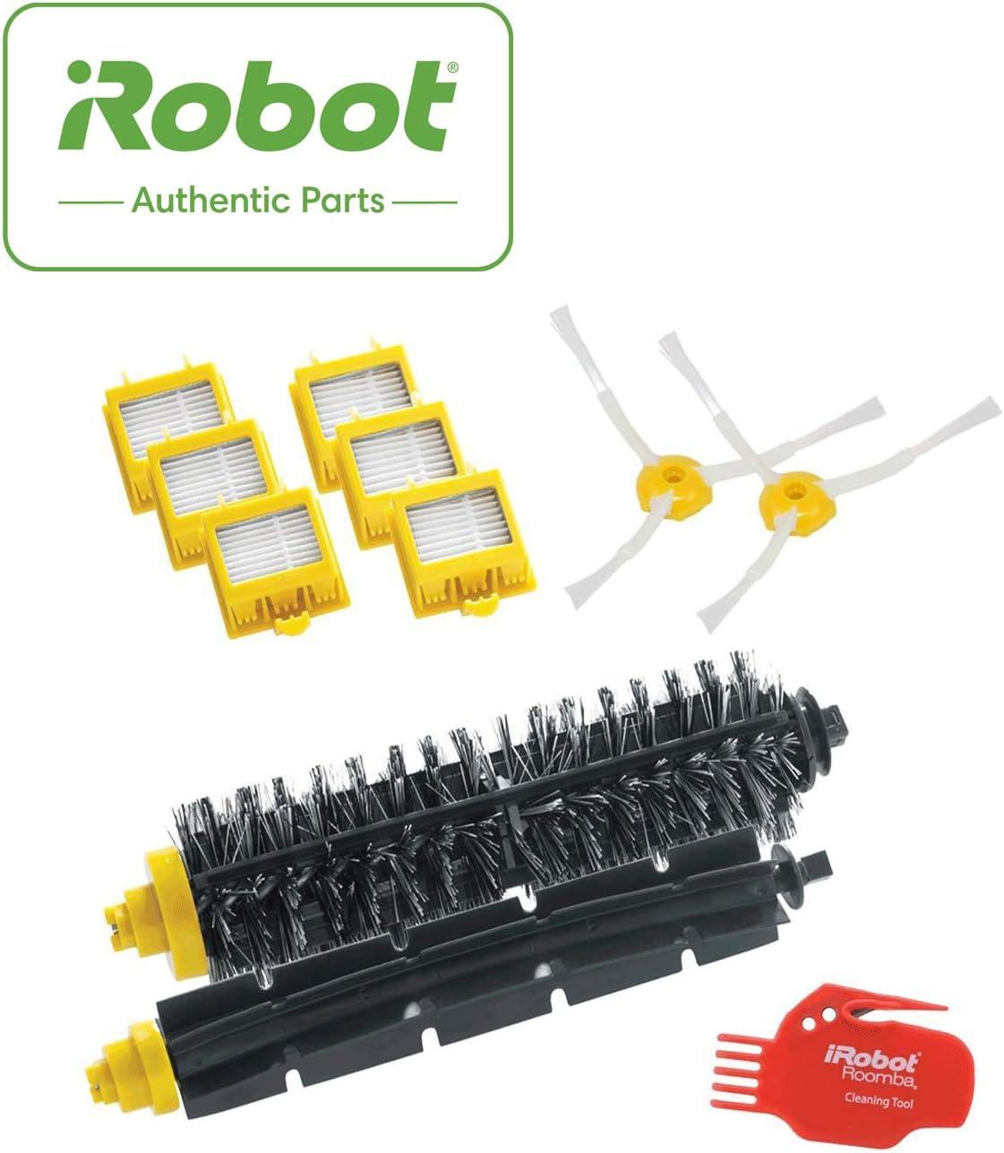 iRobot 4503462 Robot aspirador Filtro y cepillo accesorio y suministro de vacío - Accesorio para aspiradora (Robot vacuum, Filtro y cepillo, Negro, Rojo, Amarillo, 6 pieza(s), 1 brush cleaning tool): Amazon.es: Hogar