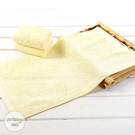 ZLR Toalla de fibra de bambú para niños Lavar la cara Toalla pequeña Toalla absorbente suave