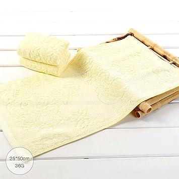 ZLR Toalla de fibra de bambú para niños Lavar la cara Toalla pequeña Toalla absorbente suave Toalla absorbente fácil de secar (Toallas * 3) (Color : C) : ...