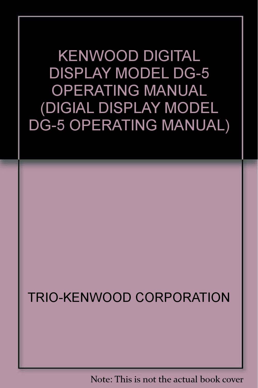 kenwood digital manual
