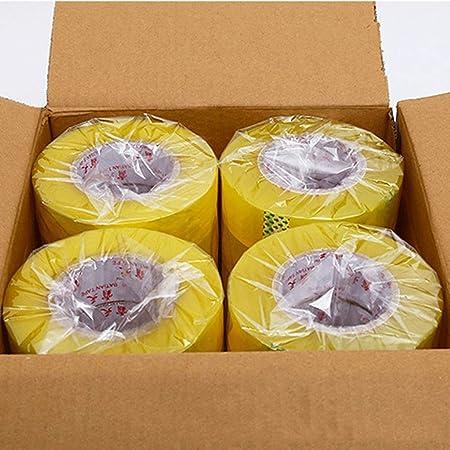 Cinta para Cajas de Embalaje, Cinta de Embalaje de Sellado para Embalaje de Servicio Pesado en el almacén Proporciona un Sello Fuerte, Seguro y Adhesivo para Sus Cajas Cinta de Sellado: Amazon.es: