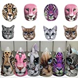 POYING 1 Sheets Nail Sticker Sexy Designs Anger Cat/Tiger/Leopard Slides for Water Transfer Temporary Tattoo Nail Decor CHSTZ455-501