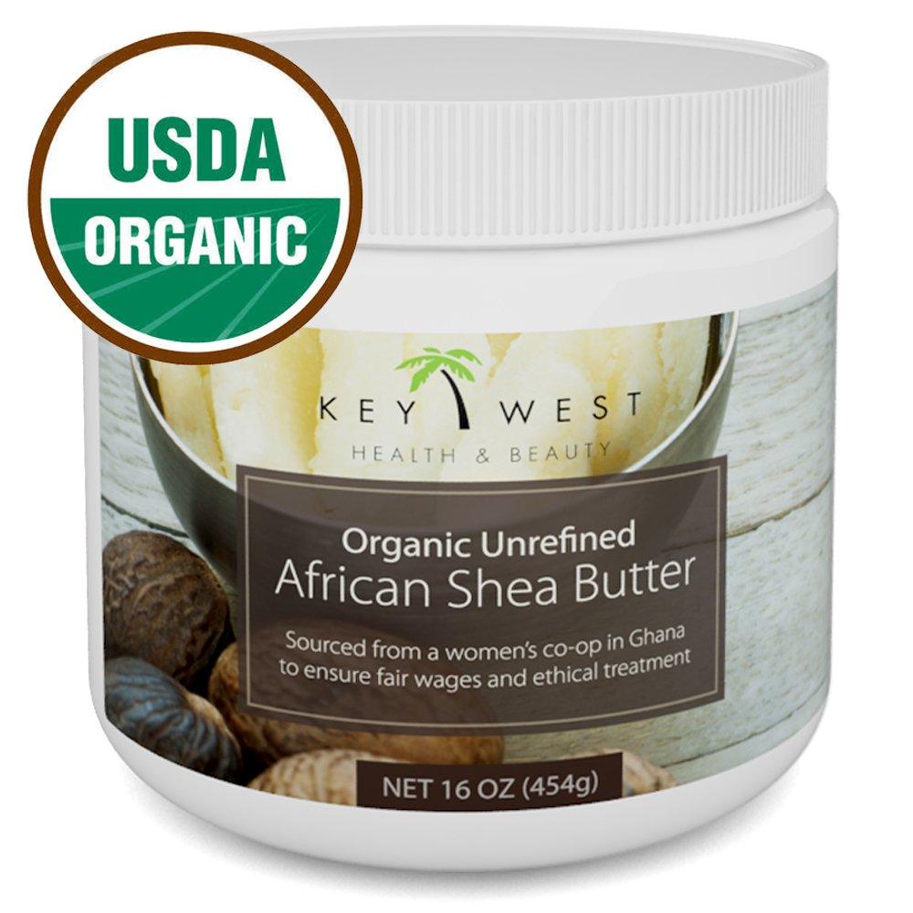 Amazon.com : Shea Butter Organic African Raw - 16 oz & USDA Certified  Organic : Body Butters : Beauty