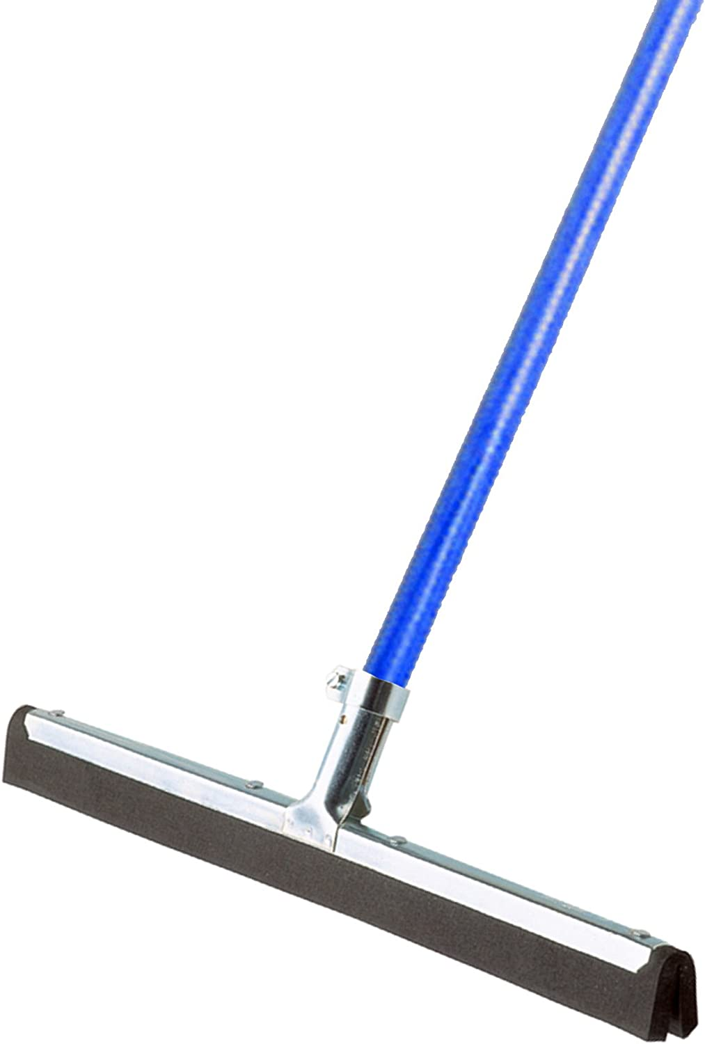 Ettore 61054 Wipe and Dry 18-Inch Floor Squeegee with 53-Inch Handle