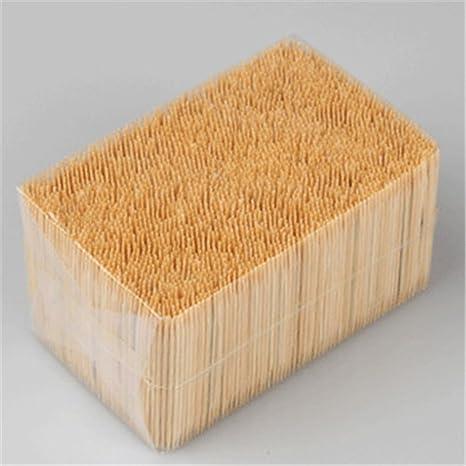 Compra ECYC® Palillos De Dientes De Bambú A Granel Super ...