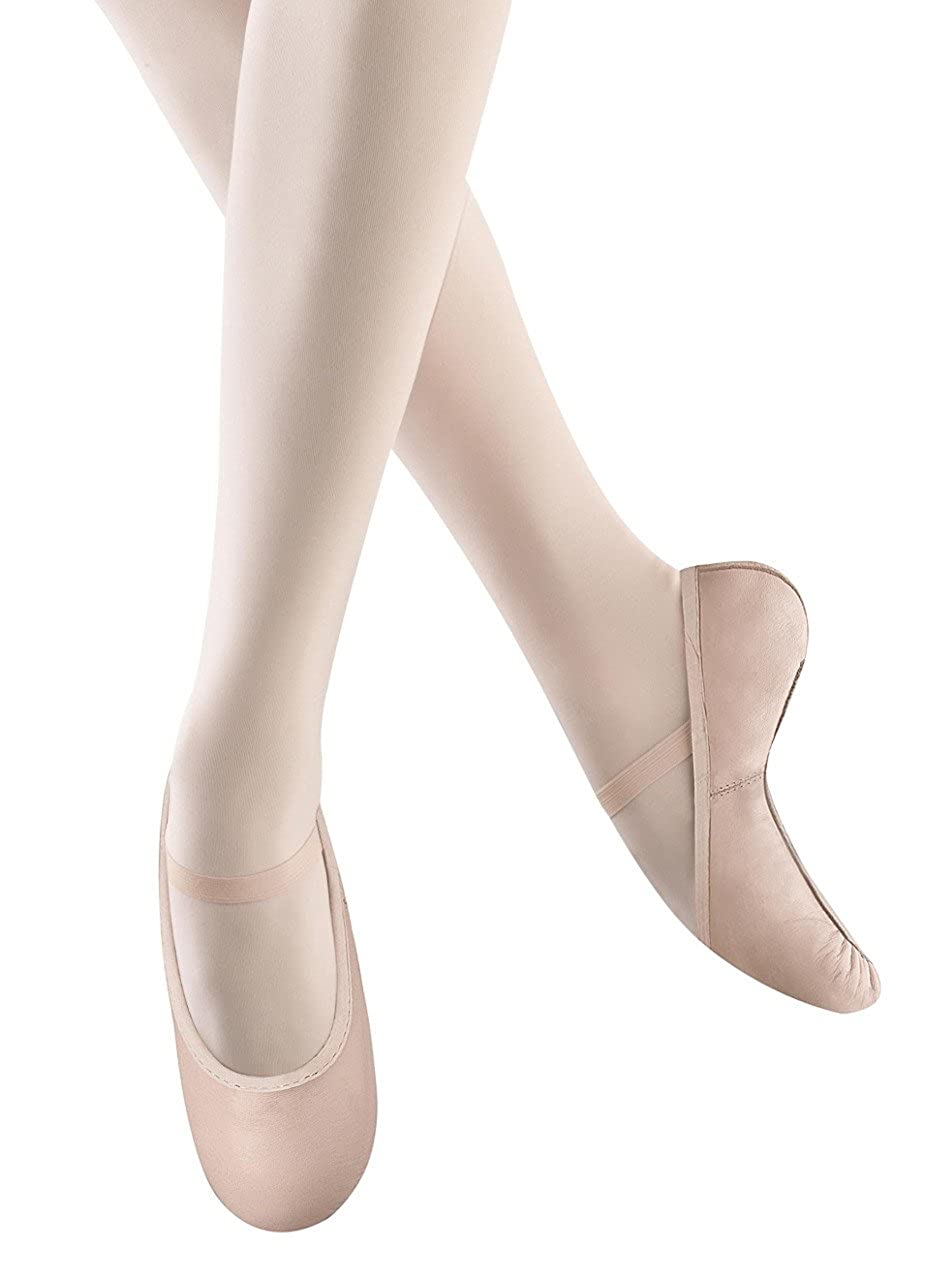 Bloch Dance Girls Dance Shoes Belle Full Sole Leather Ballet Slipper/Shoe BELLE BALLET SHOE - K