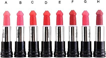 8 Colores Profesional Mate Pintalabios de Maquillaje Larga ...