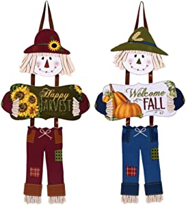 Found Treasure Chest Farmhouse Fall Decor, Welcome Fall and Happy Harvest Wall Signs