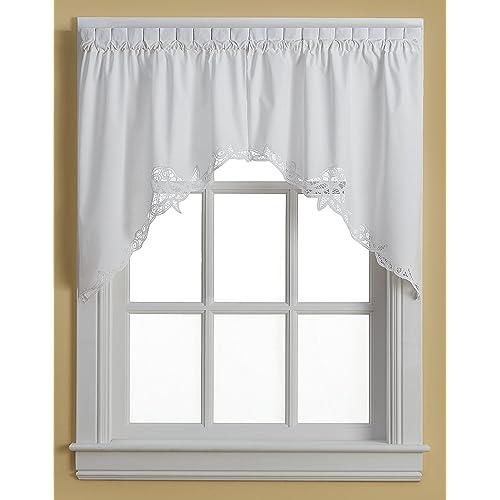 White Kitchen Curtains Amazon Com: Lace Kitchen Curtains: Amazon.com