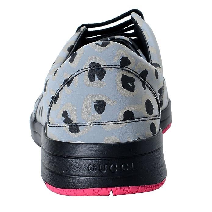 0dfce4aca7eb Amazon.com  Gucci Men s Reflex Leo Print Fashion Sneakers Shoes US 12 IT 11  EU 45   Shoes