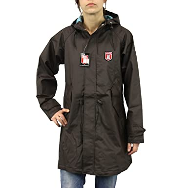 Derbe Hamburg Jacke Friese PVC coffee 44: