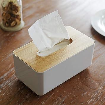 Joppen Caja de pañuelos Caja para pañuelos, pañuelos (Madera y PP [23 cm x 13 cm x 10 cm]: Amazon.es: Juguetes y juegos