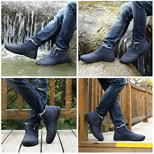 Snow Black Man Winter BlanKey Boot Slip Cotton Cashmere Shoes Warm Outdoor amp;Womens Anti gxCBq
