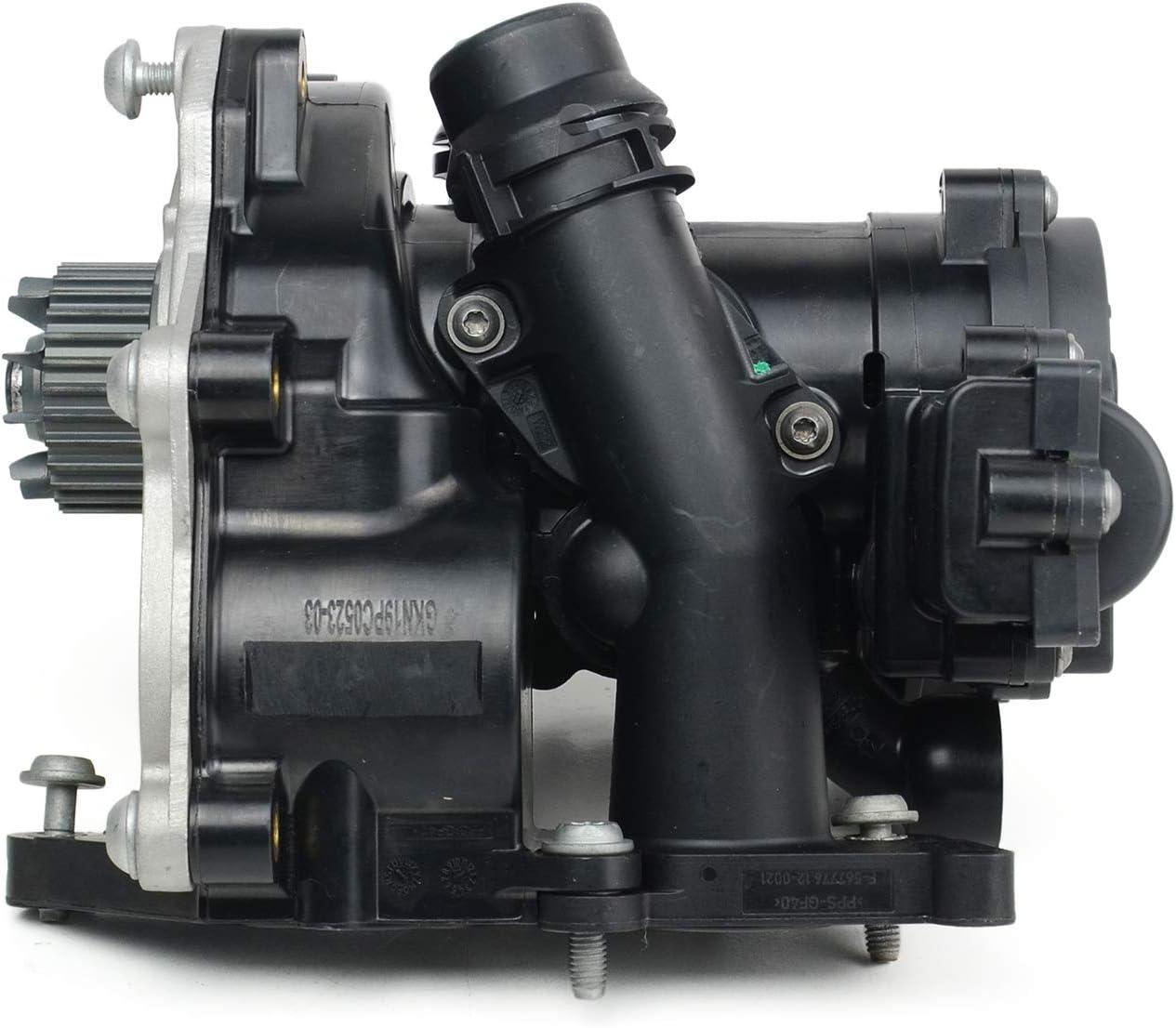 AUDI OEM 15-17 A3 Quattro 2.0L-L4-Engine Coolant Thermostat 06L121111H
