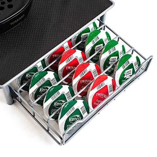 /60 emplacements pour capsules/ Home Treats Tiroir pour caf/é Tassimo Surface antid/érapante et anti-vibrations