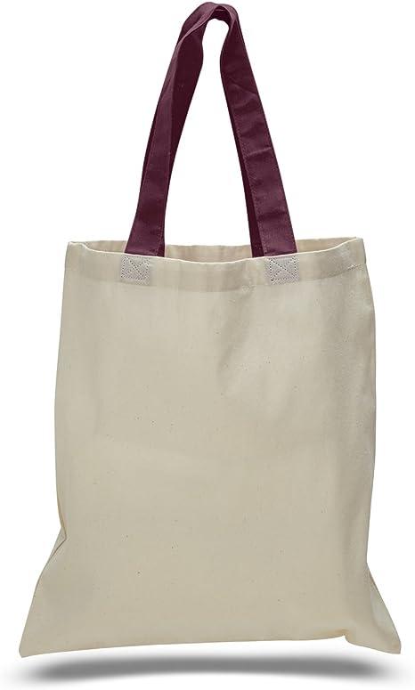 14 Pack Promocional Precio Durable algodón Tote bolsa de asas ...