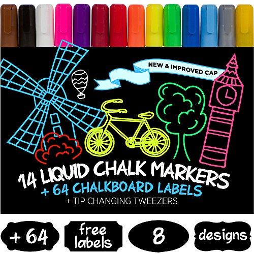 CASELAST Premium Liquid Chalk Markers product image