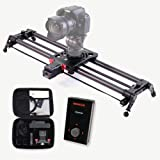 KONOVA Motorized Slider P1 Series Carbon Slider Dolly with S2 for Parallax Panorama Shot Live Motion and Timelapse…