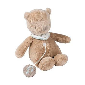 58e47b9e2a8b Nattou Mia and Basile - Mini Musical Basile The Bear: Amazon.co.uk: Baby