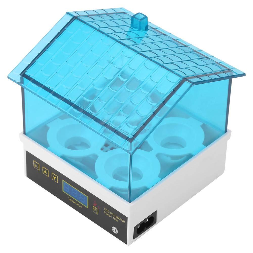 4 Uova Anatra Quaglia,covatrice Macchina per cova Artificiale incubazione Uova GOTOTOP Incubatrice Uova Automatica Incubatrice Digitale con Display LCD,per Gallina