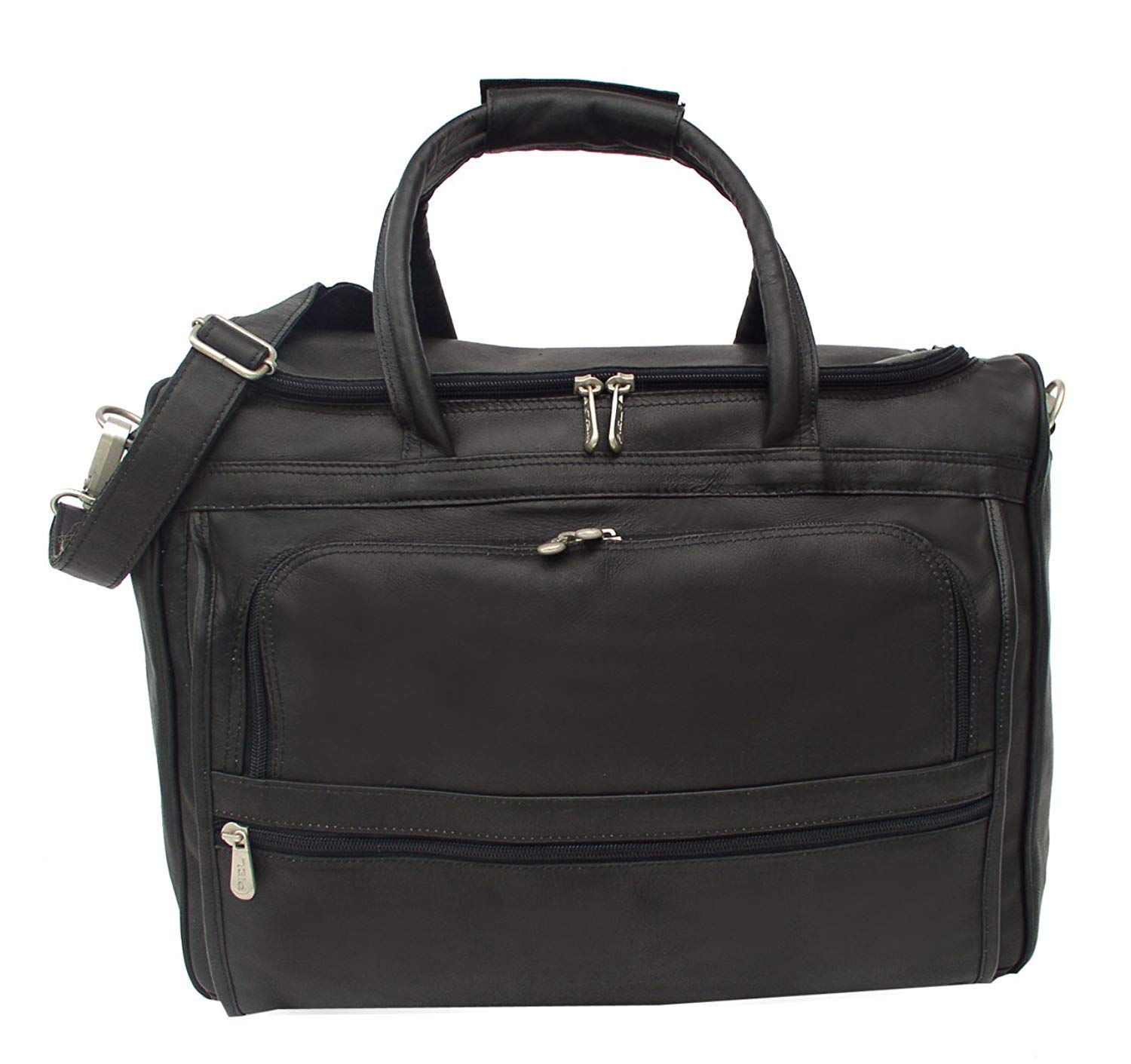 Saddle One Size 2277 Piel Leather Computer Carry-All Bag