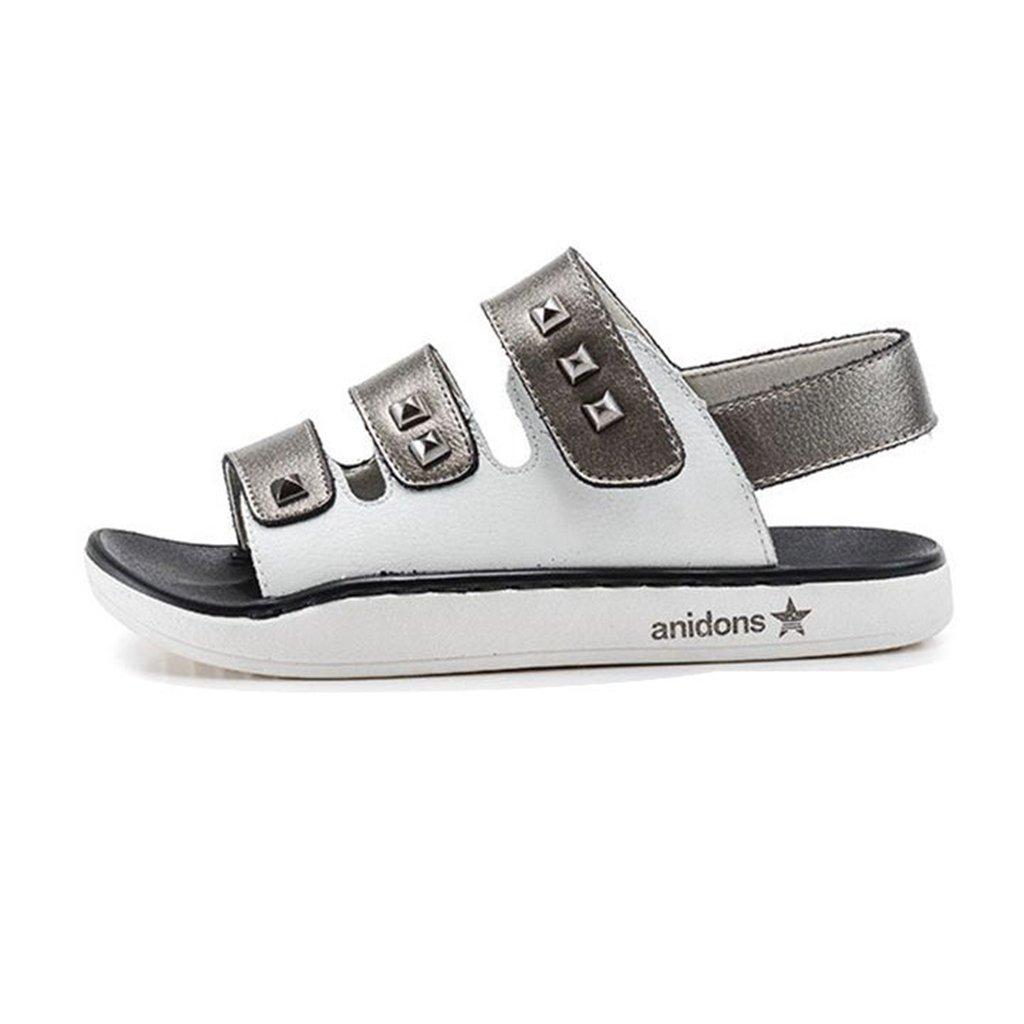 ToddlerLittle Boys Girls Sport Sandals Summer Athletic Open-Toe Adjustable Strap Outdoor Kids Shoes