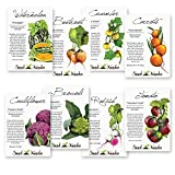 Alien Vegetable Seed Assortment (8 Individual Seed Packets) Seeds by Seed Needs