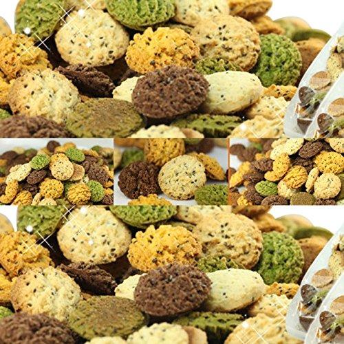 Chiashido que contienen leche de soja galletas Okara cuatro montones 500g