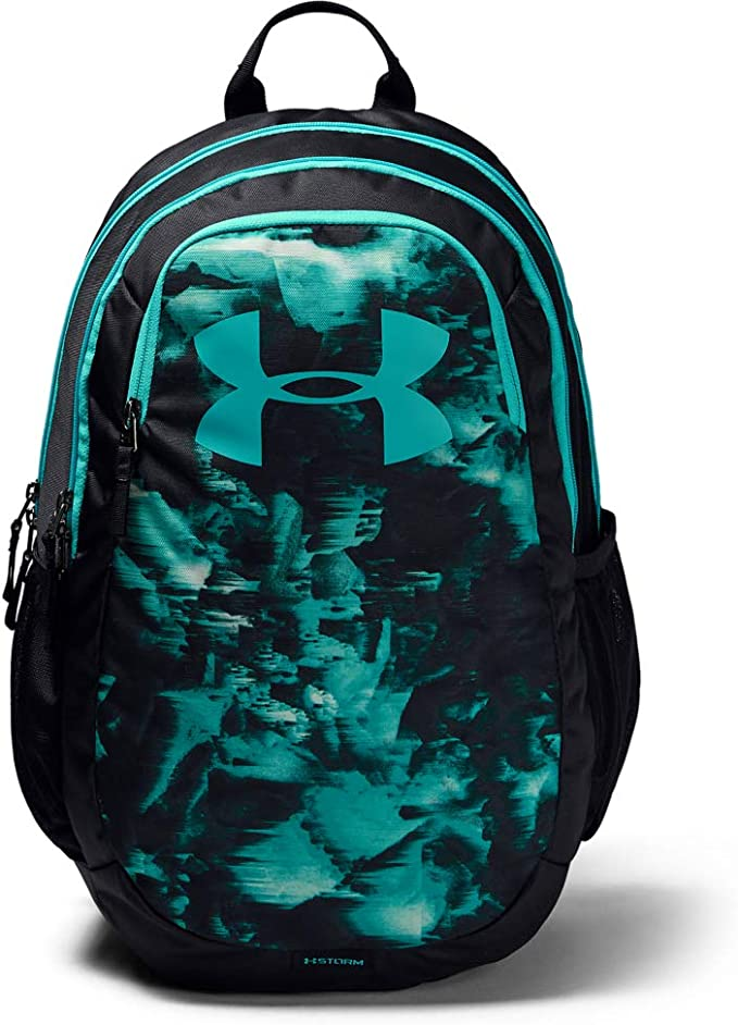 Under Armour Scrimmage Backpack 2.0, Black (003)/Breathtaking Blue, One Size Fits All