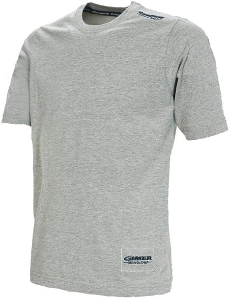 Camiseta para hombre media canal gr.200 realizada total de 100% algodón Blanco blanco Talla:M: Amazon.es: Deportes y aire libre