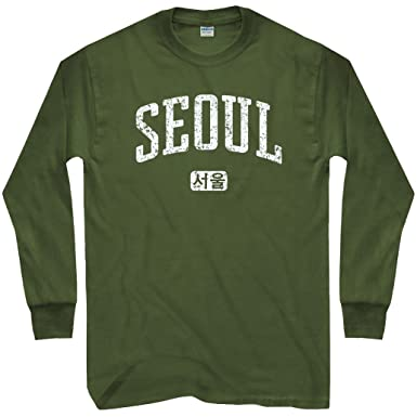 Amazon Com Smash Transit Men S Seoul Korea Long Sleeve T Shirt