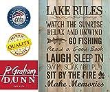 P Graham Dunn Lake Rules Relax Unwind Fishing
