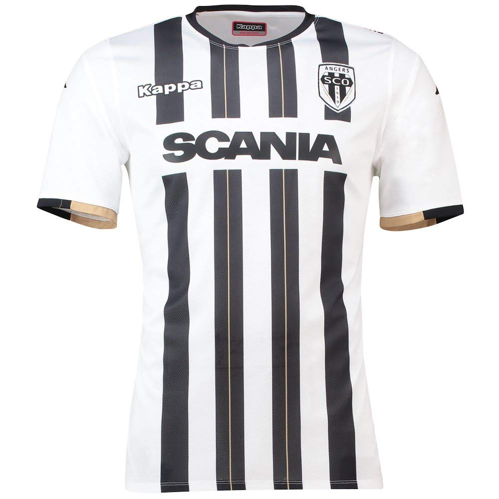 Kappa 2018-2019 Angers Home Football Soccer T-Shirt Camiseta ...