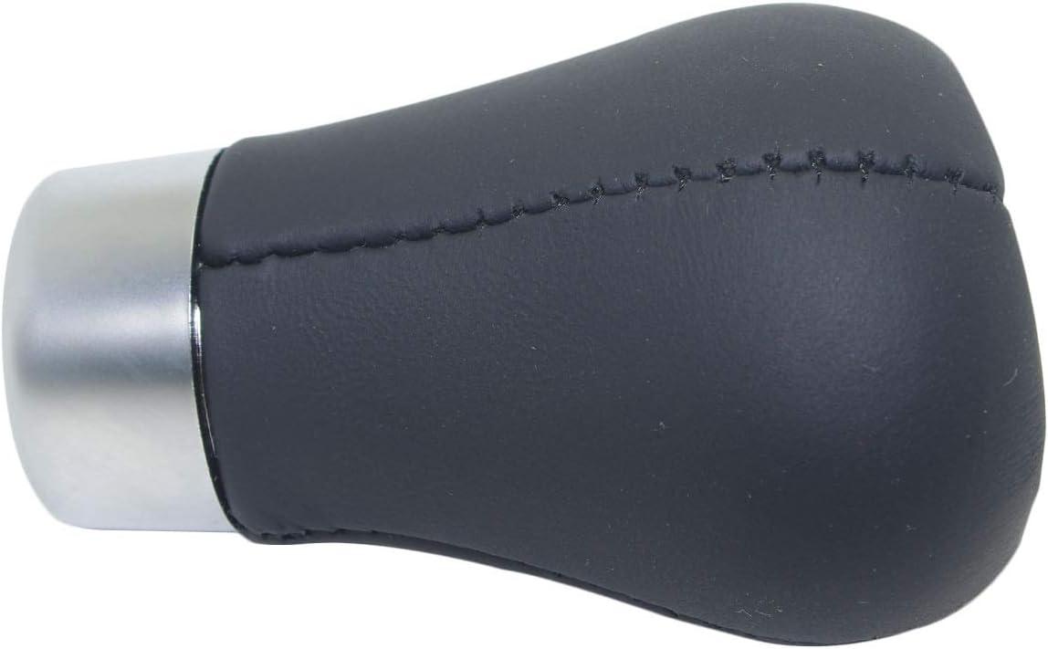 Pursuestar Black Genuine Leather 6 Speed Manual Short Shift Knob for BMW 1 3 5 6 Series E30 E32 E34 E36 E38 E39 E46 E53 E60 E63 E83 E84 E90 E91 E92