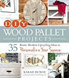 Turn simple shipping pallets into stunning crafts for your home!With DIY Wood Pallet Projects, you can finally personalize your space without having to spend a fortune on getting that perfect rustic chic look. Featuring 35 creative upcycling ...